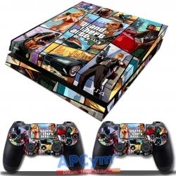 Vinilo Playstation 4 GTA V