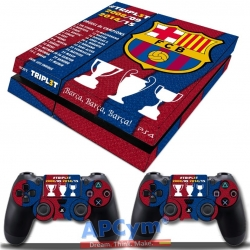 Vinilo Playstation 4 Barsa Triplete Blaugrana