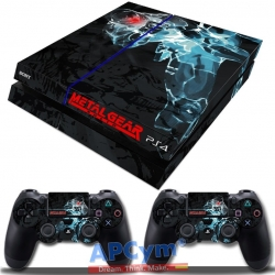 Vinilo Playstation 4 Metal Gear Cyborg Ninja Gray