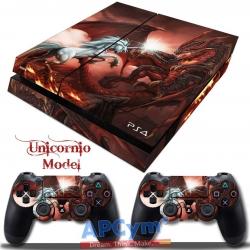 Vinilo Playstation 4 Unicornio