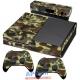 Vinilo Xbox One Camuflaje Militar