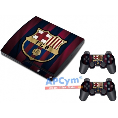 Vinilo Playstation 3 Slim Modelo F.C. Barcelona