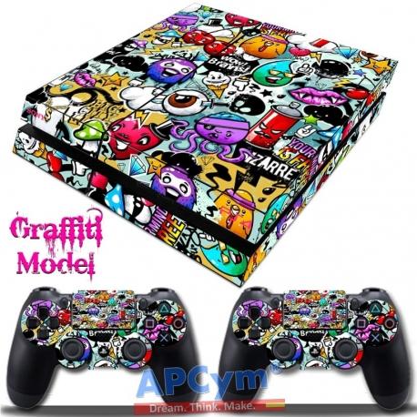 Vinilo Playstation 4 Graffiti
