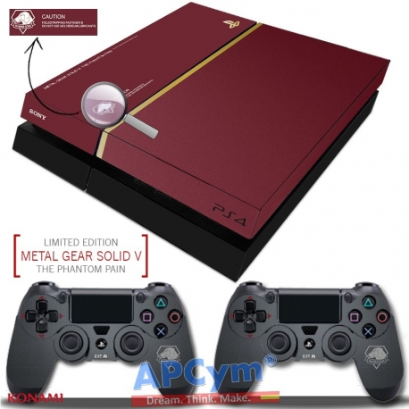 Vinilo Playstation 4 Metal Gear V The Phantom Pain Deluxe Edition
