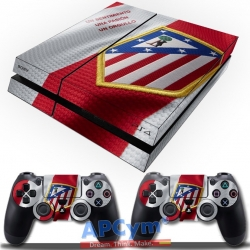 Vinilo Playstation 4 Atletico de Madrid